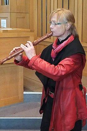 Kirchenmusik Blockflöte Gisela Wassermann