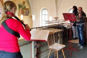 Kirchenmusik Blockflöte und Violine