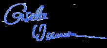 Unterschrift Gisela Wassermann